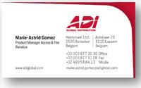 Template 3 <br> Adi Global layout